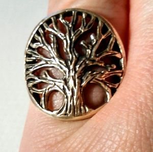 Jewelry - Sterling silver 925 Tree of Life Ring
